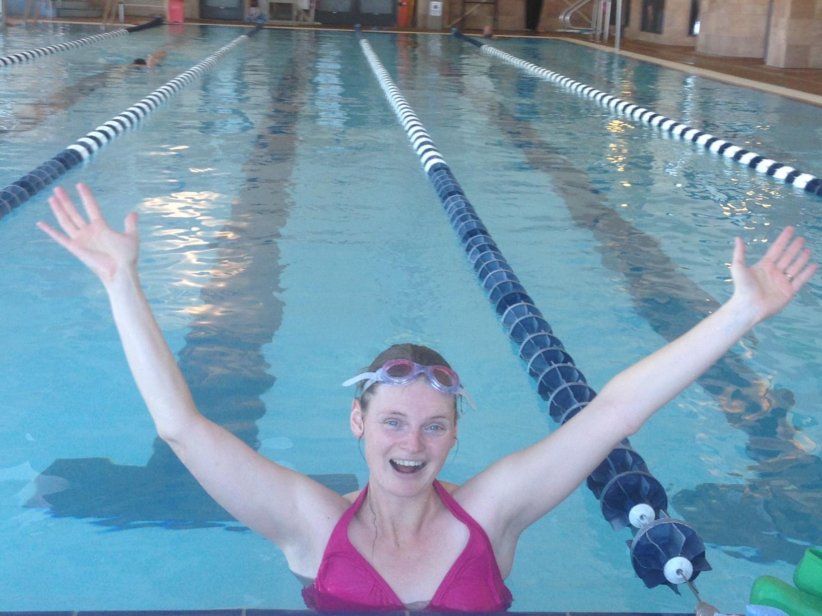Amy swim