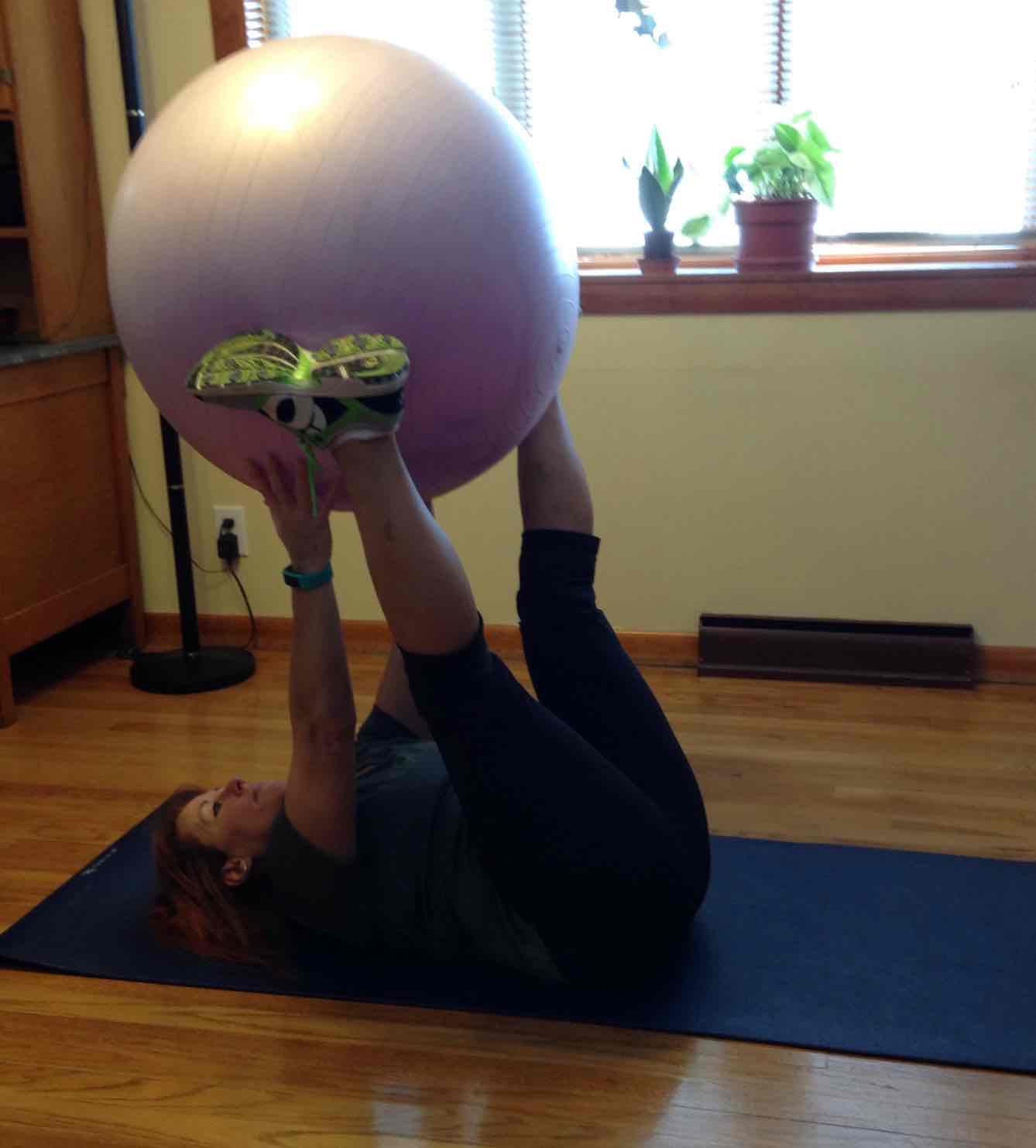 jill physio ball passes middle position
