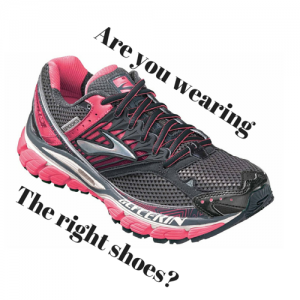 Are you wearing the right shoes?