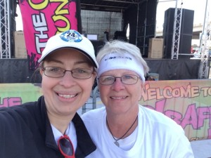 Jan and Sara Graffiti Run
