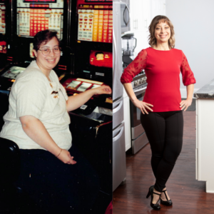 Sara Borgstede Before After 100 pounds lost