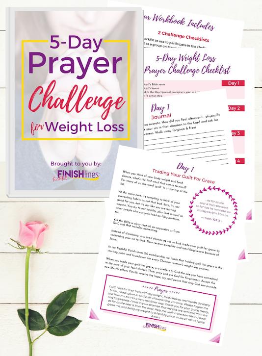 5 Days of Weight Loss Prayers